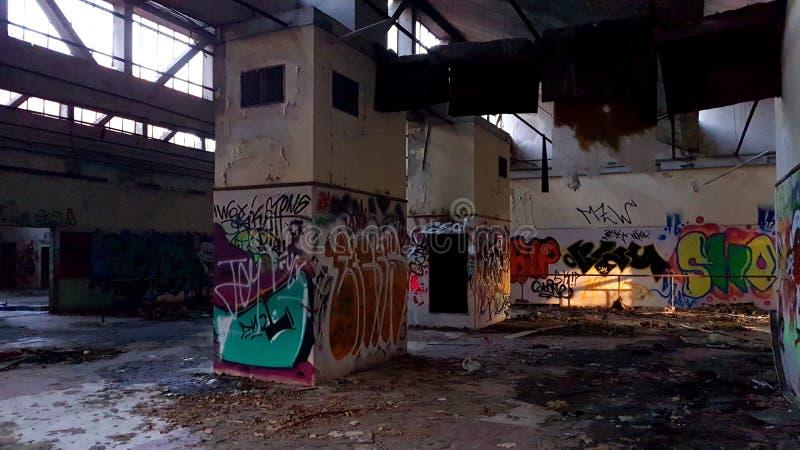 Constructions abandonnées photographie stock libre de droits