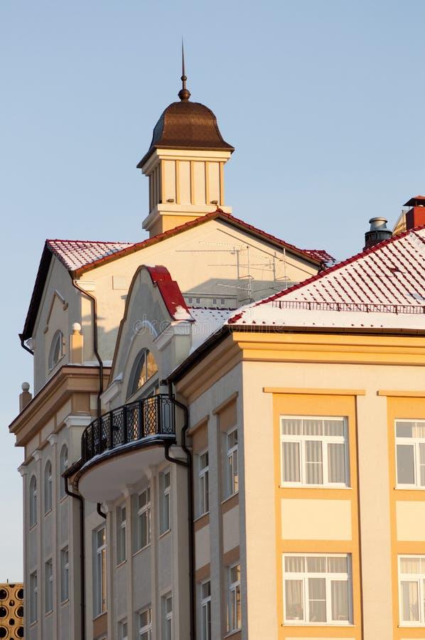 Constructions antiques à Kaliningrad photos libres de droits
