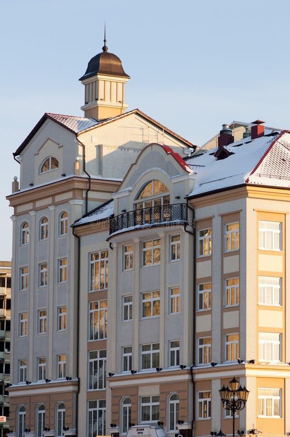 Constructions antiques à Kaliningrad image stock