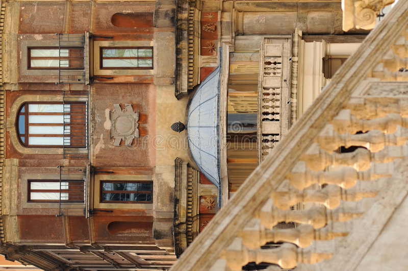 Constructions antiques à Rome, Italie image stock