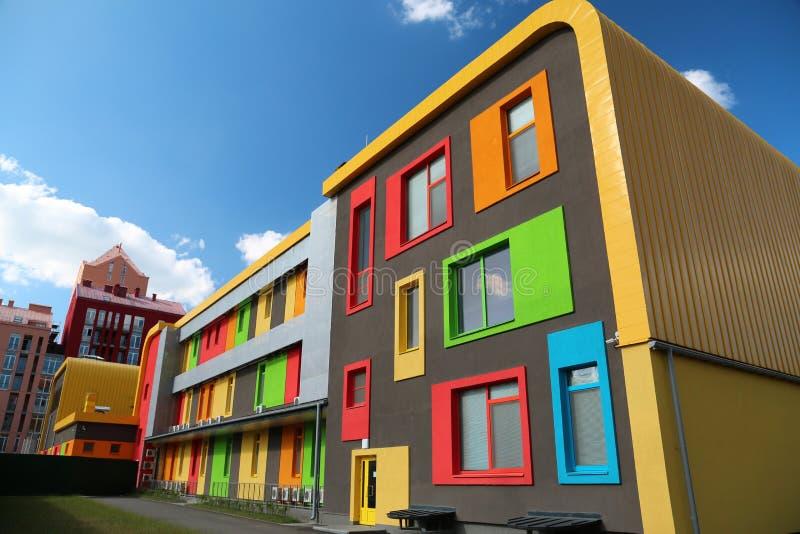 Constructions colorées photos libres de droits