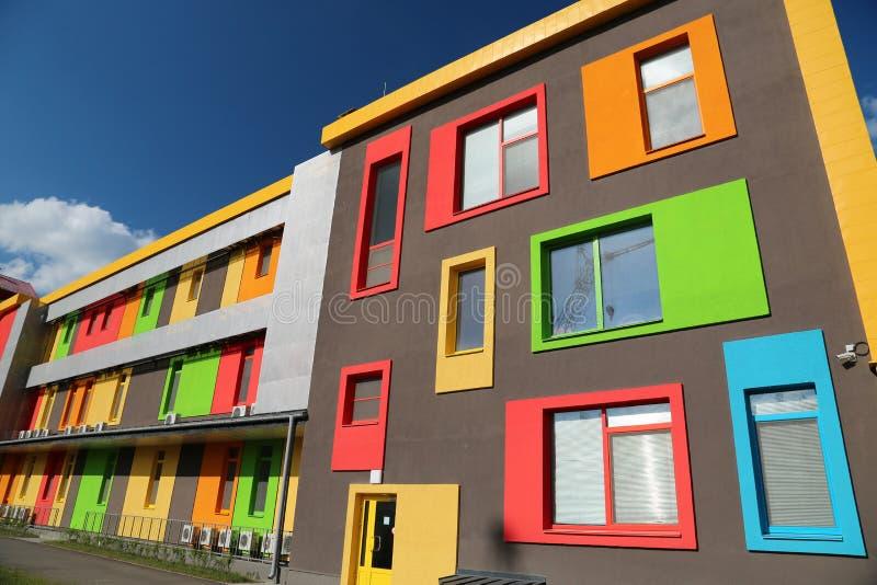 Constructions colorées images libres de droits