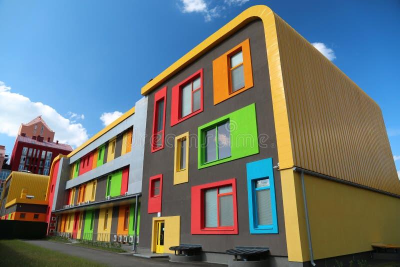 Constructions colorées photographie stock