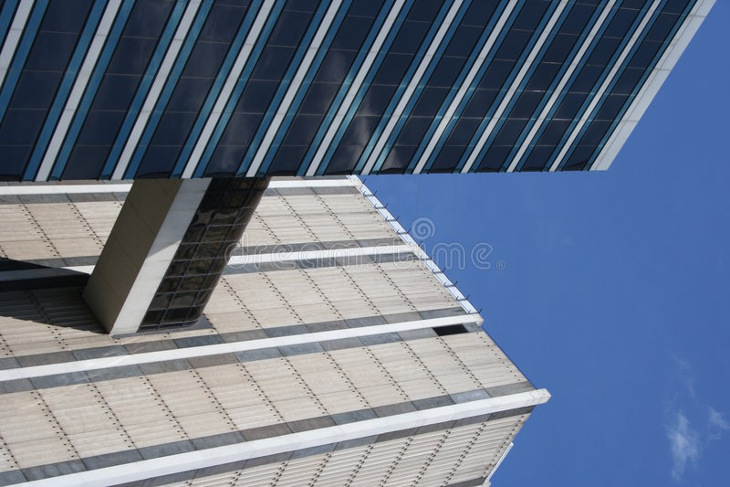 Constructions connectées photo stock