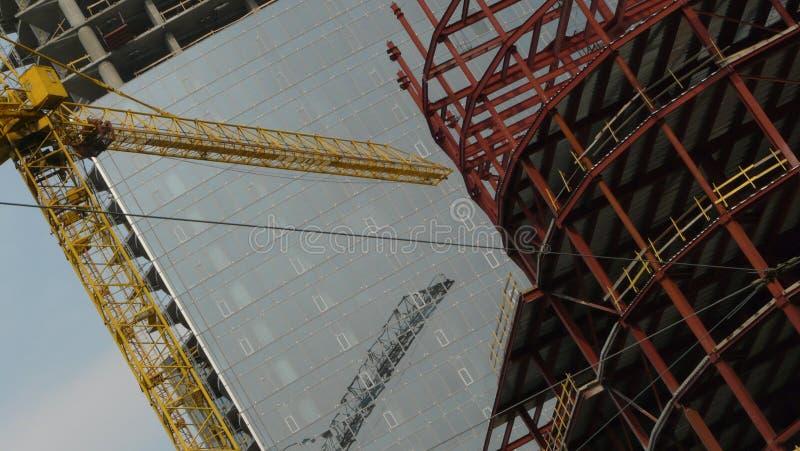 Constructions de bâtiments de ville photo libre de droits