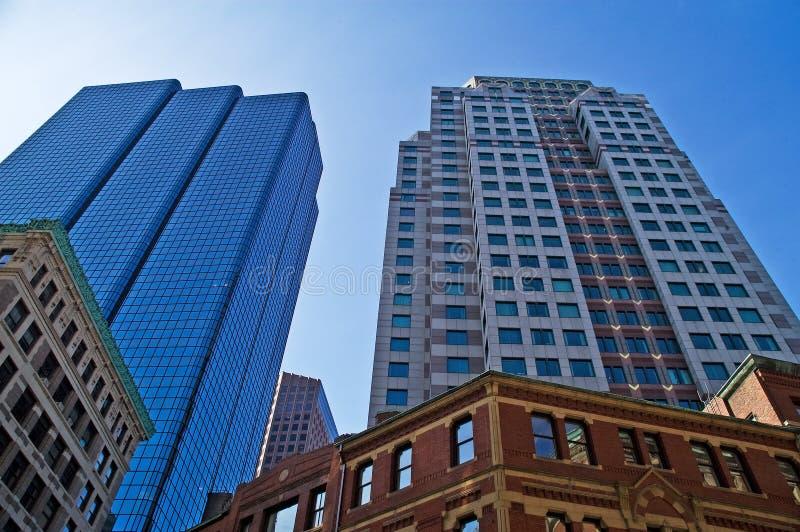constructions de Boston photo libre de droits