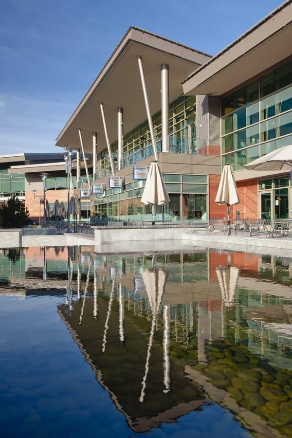 Constructions de campus de Microsoft photographie stock