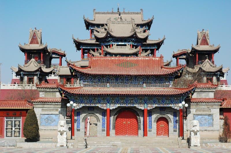 Constructions de chinois traditionnel photo libre de droits