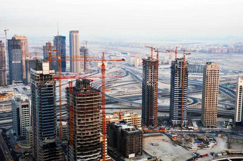 Constructions de construction image libre de droits