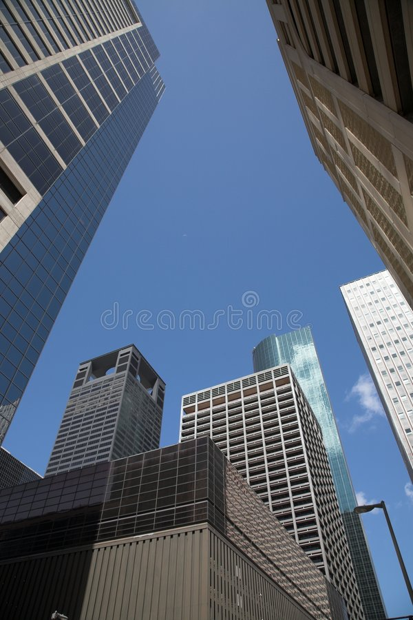 Constructions de Coverging image stock