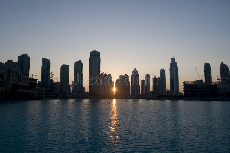 Constructions de Dubaï photos libres de droits