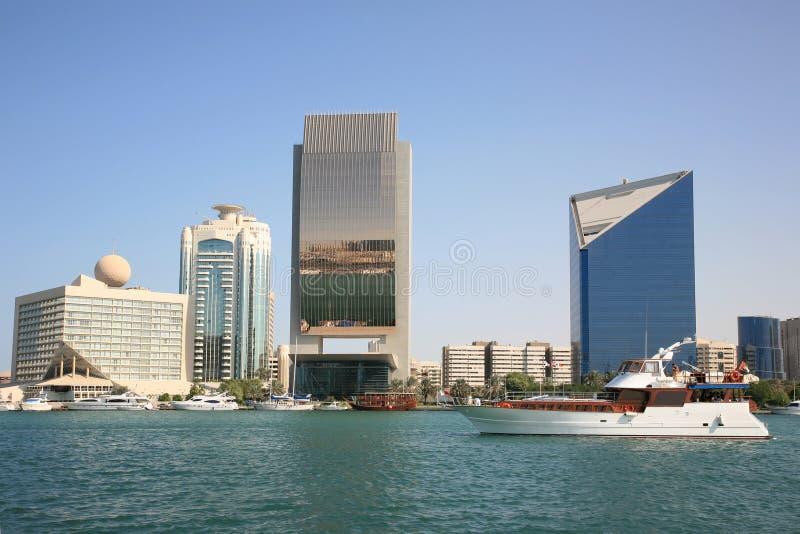 Constructions de Dubai Creek photos stock