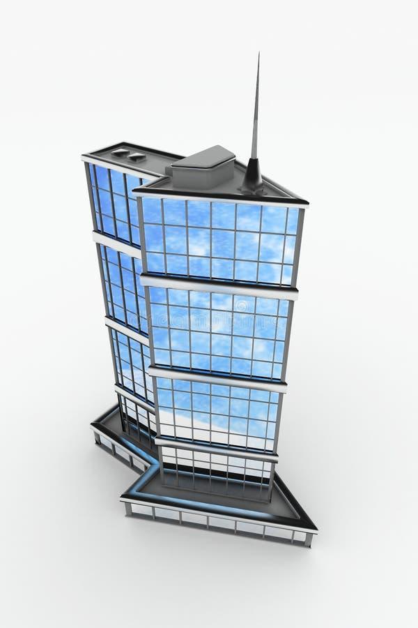 constructions de flèche modernes illustration stock