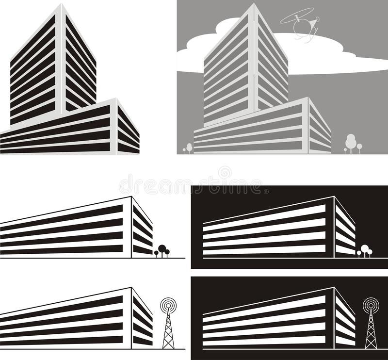Constructions de graphisme illustration de vecteur