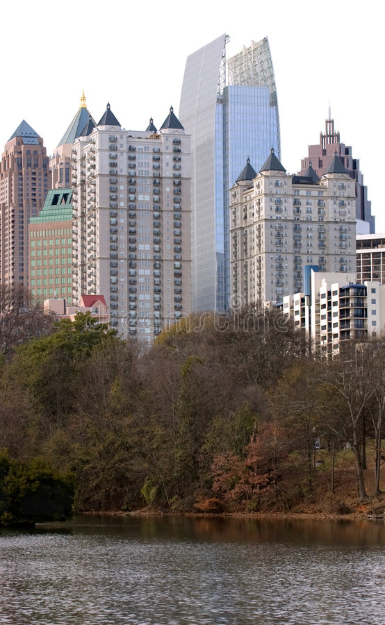 Constructions de gratte-ciel image libre de droits