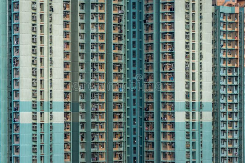 Constructions de Hong Kong photos libres de droits