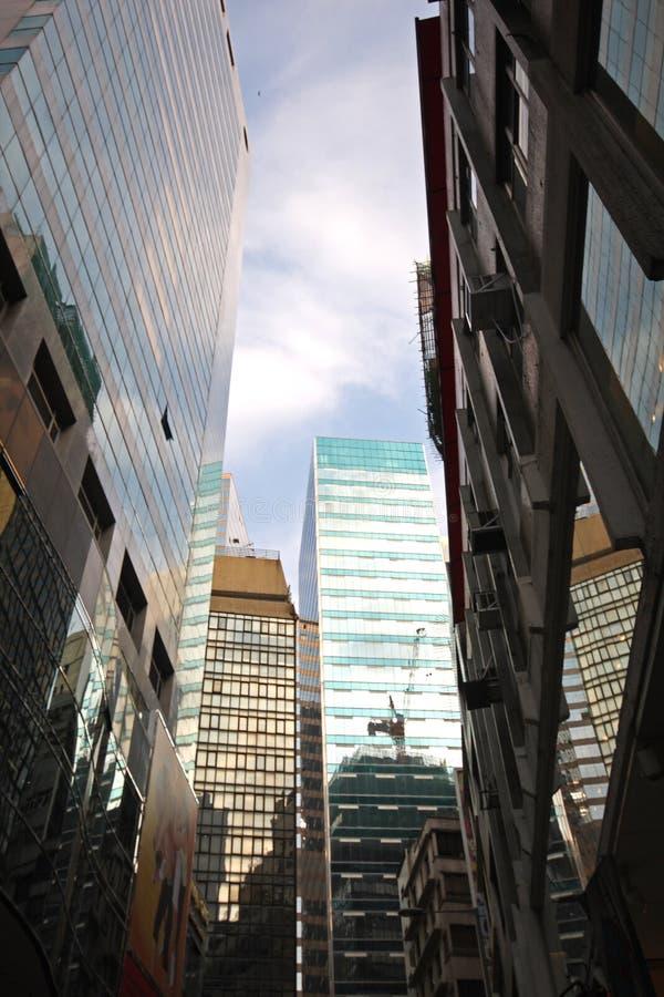 Constructions de Hong Kong photographie stock libre de droits