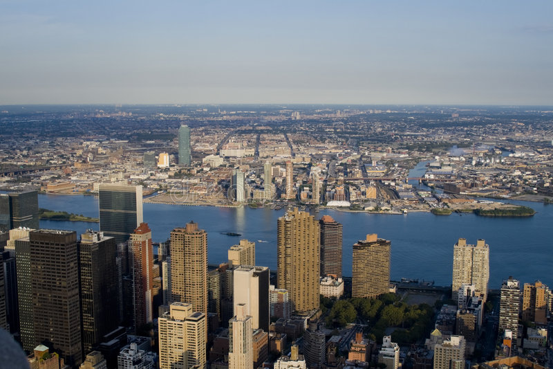Constructions de Manhattan photos stock