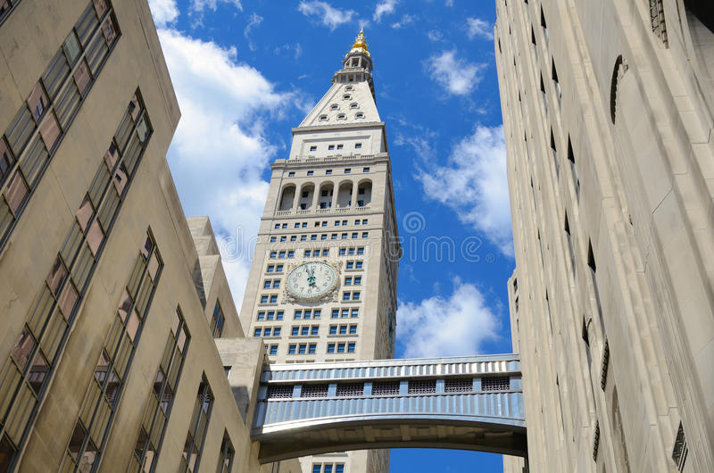 Constructions de Manhattan d'art déco image libre de droits