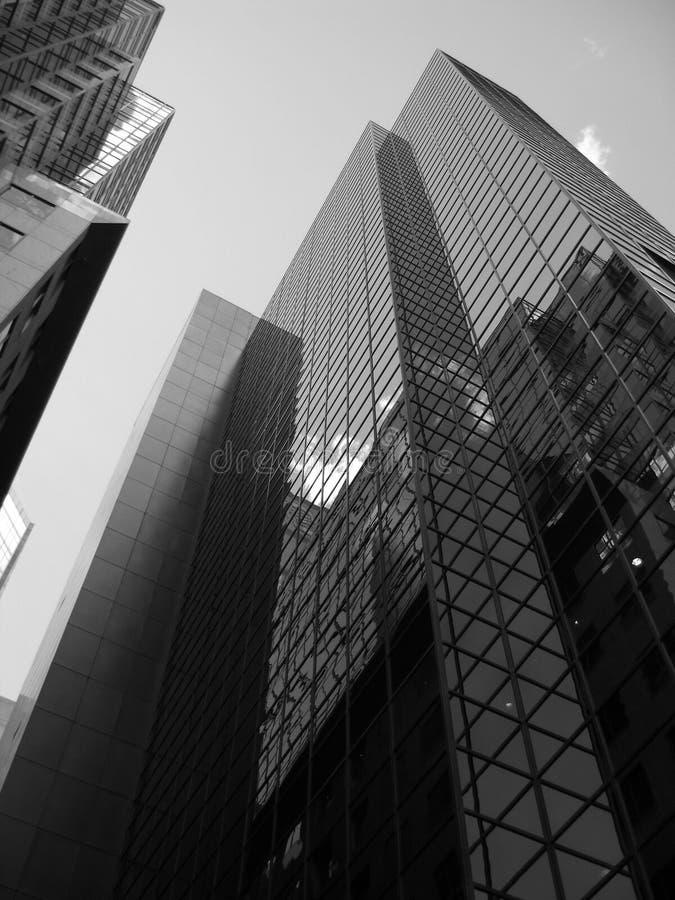 Constructions de Montréal photo libre de droits