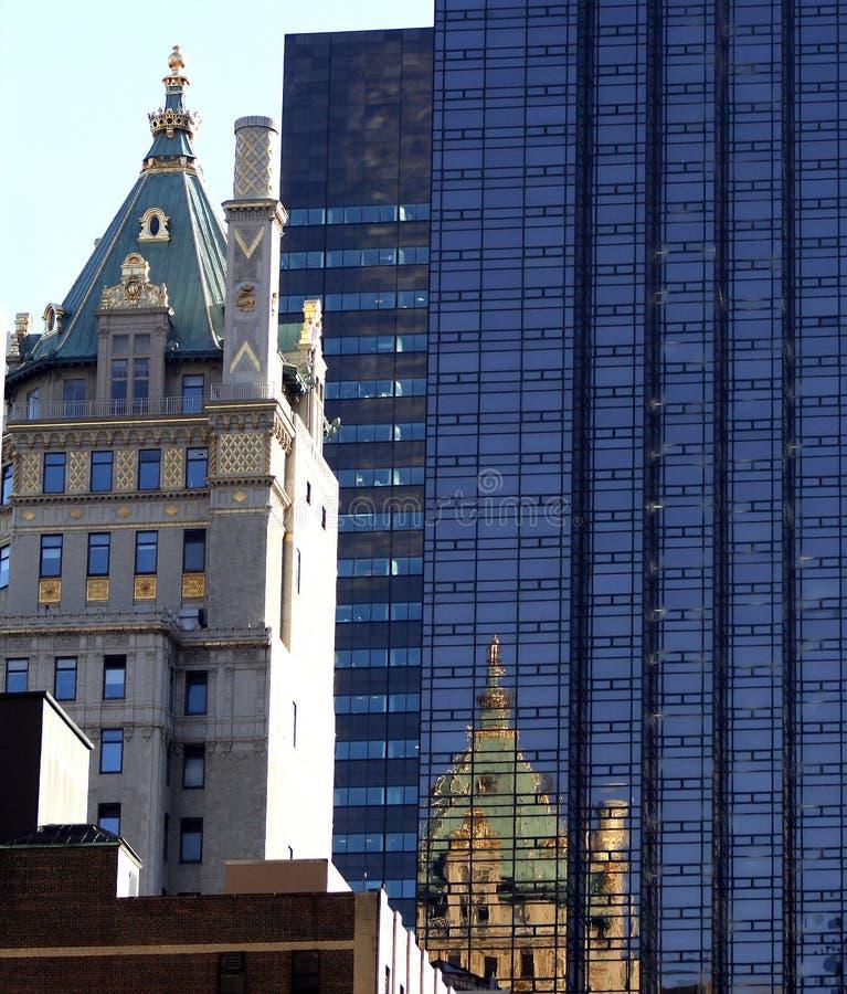 Constructions de New York City image libre de droits