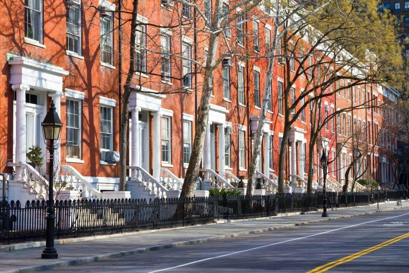 Constructions de New York City photos libres de droits