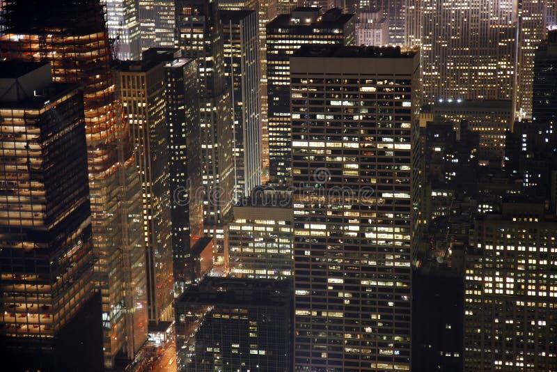 Constructions de New York City photographie stock libre de droits