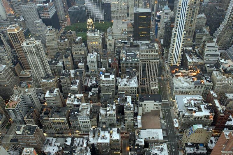 Constructions de New York City photos stock