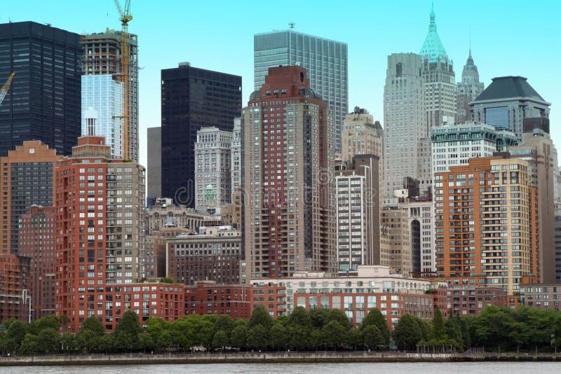 Constructions de NYC images libres de droits