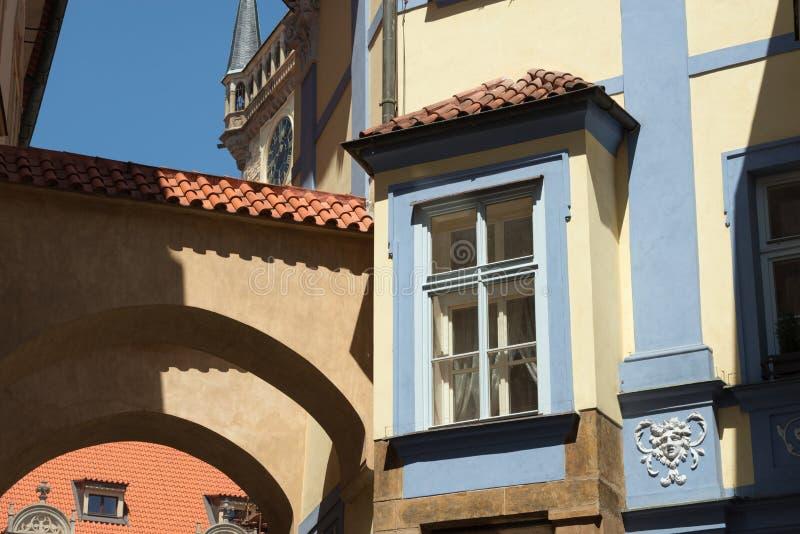 Constructions de Prague photos libres de droits