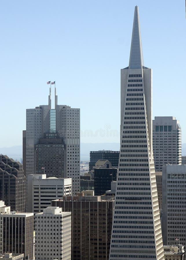 Constructions de San Francisco photos libres de droits