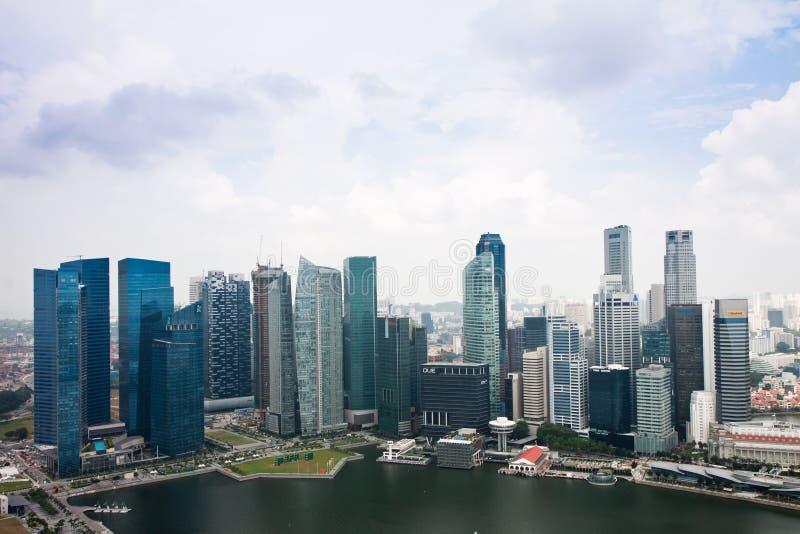 Constructions De Singapour Photo éditorial