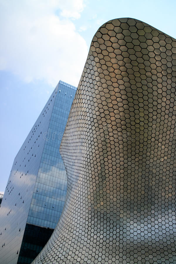 Constructions de Soumaya et de Carso photos stock