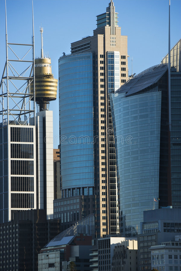 Constructions de Sydney, Australie. photos stock