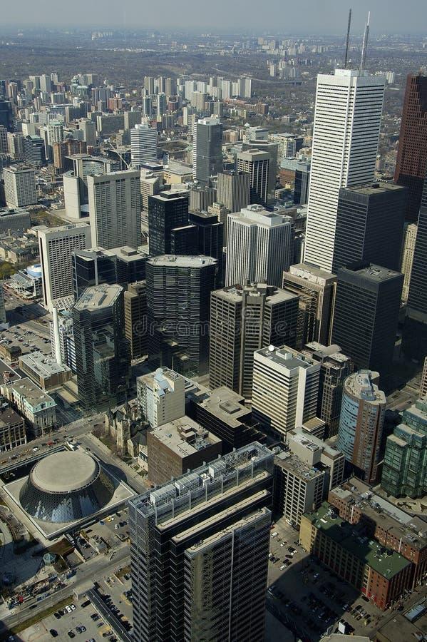 Constructions de Toronto photos stock