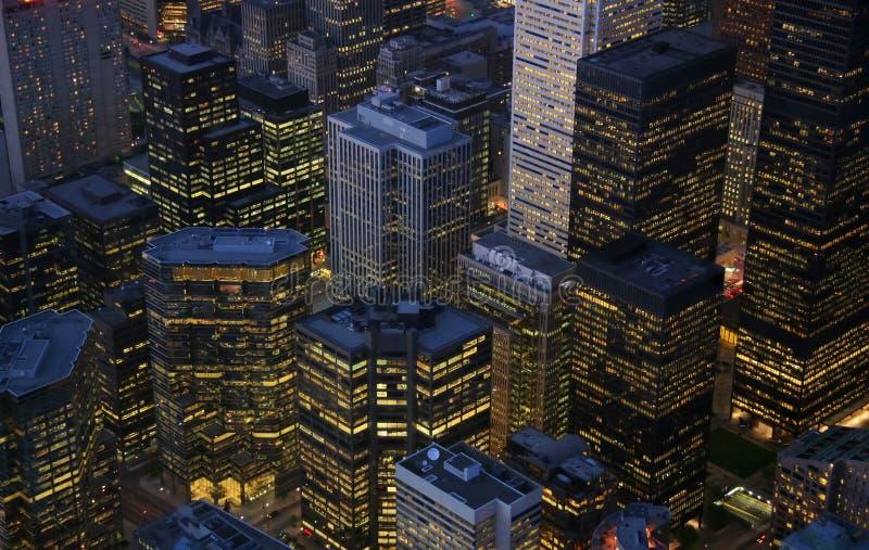 Constructions de Toronto images stock