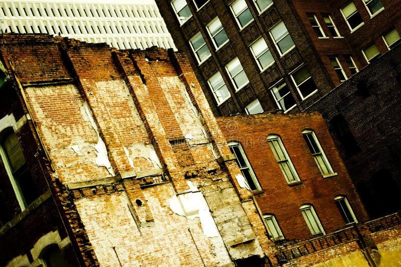 Constructions de ville photographie stock libre de droits