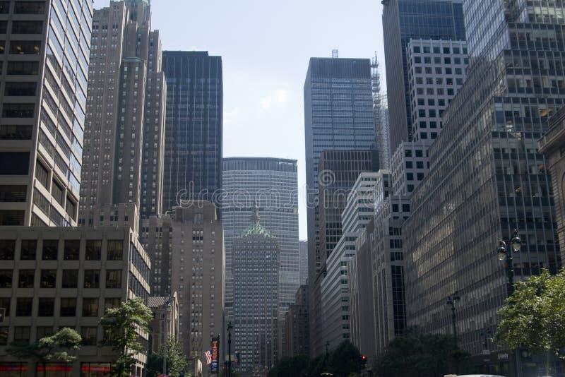 Constructions de ville images libres de droits