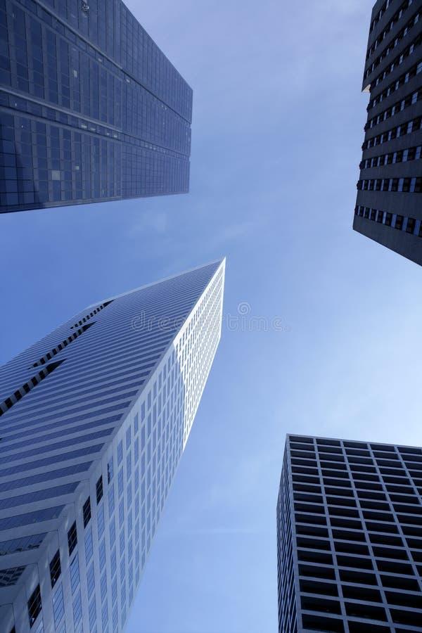 Constructions du centre de ville de Houston le Texas photo stock