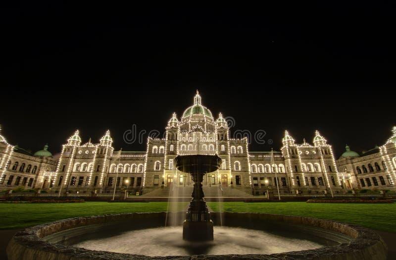 Constructions du Parlement de Colombie-Britannique photos stock