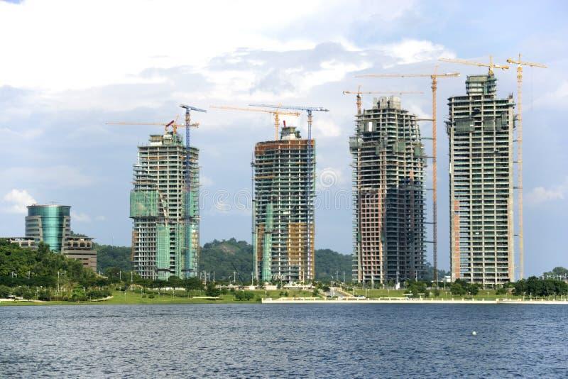 Constructions en construction photo libre de droits