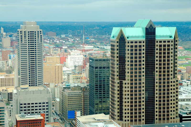 Constructions grandes de St Louis photographie stock