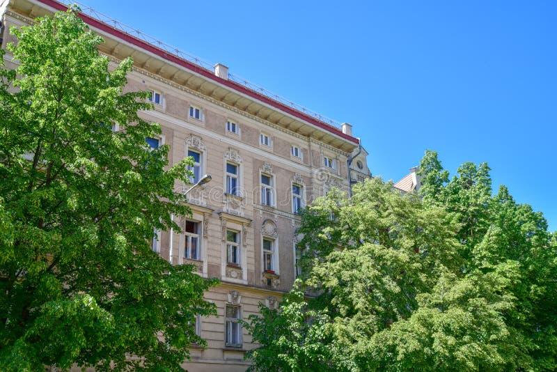 Constructions historiques à Prague image stock
