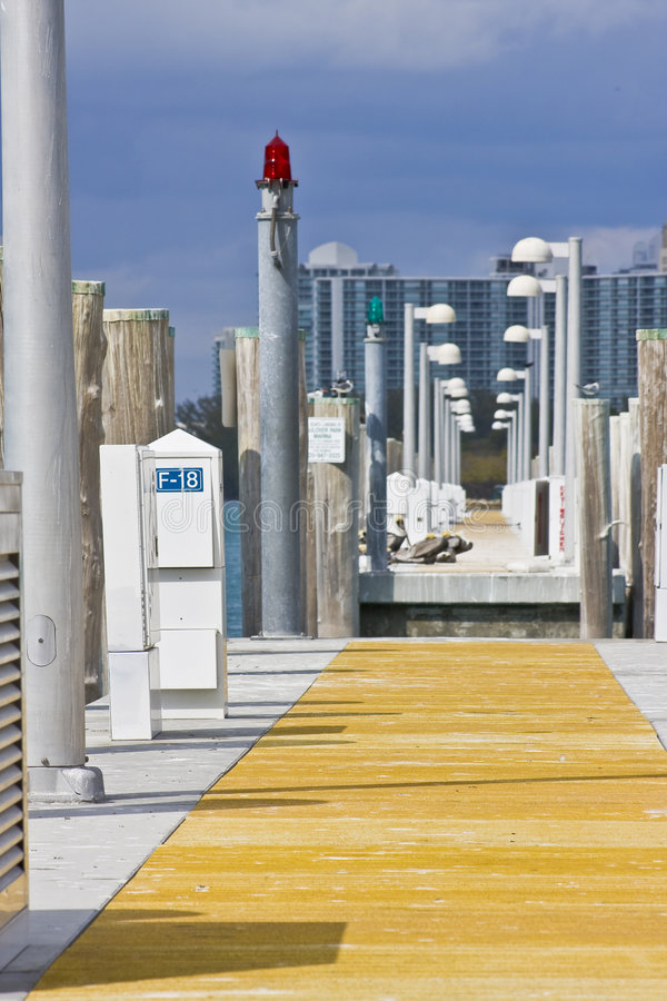 constructions Miami de plage photo libre de droits