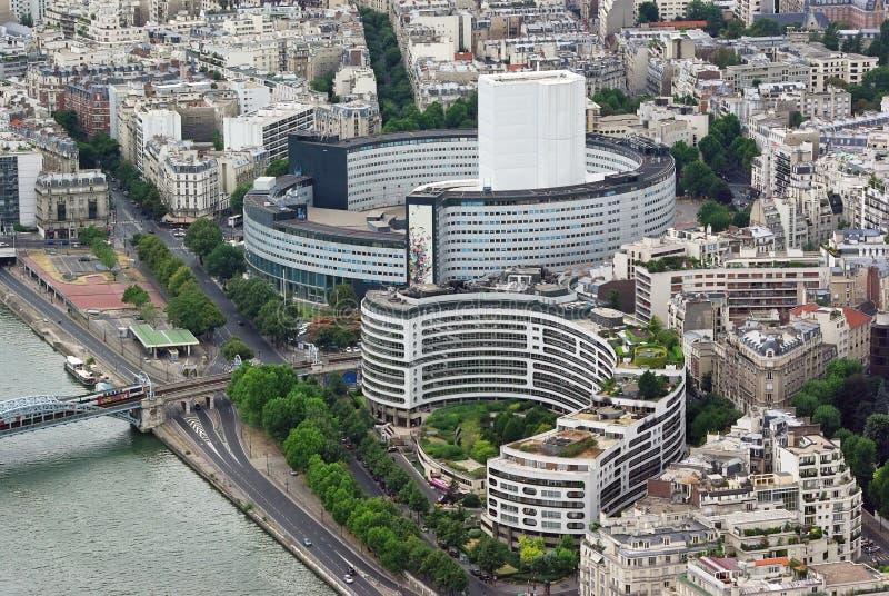 Constructions modernes à Paris photo libre de droits