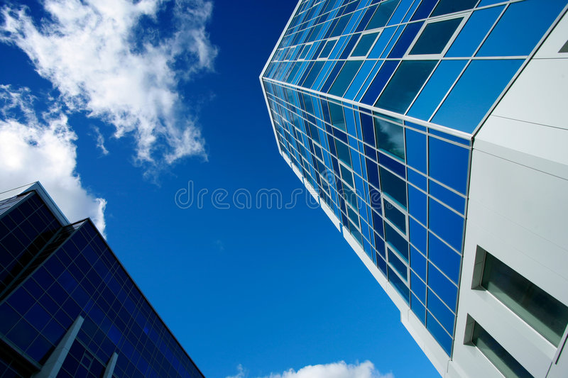 Constructions modernes photographie stock