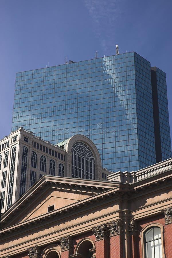 Constructions par les âges à Boston photos stock