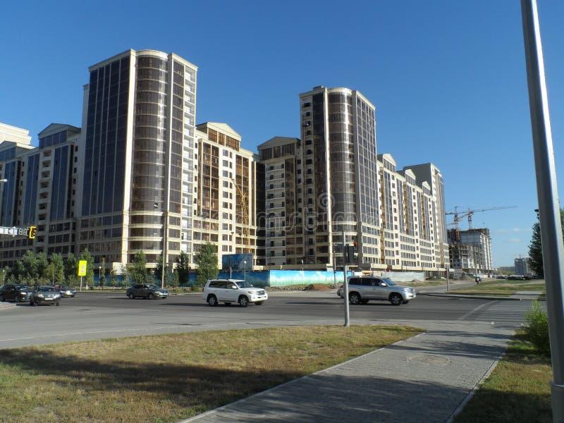 Constructions résidentielles photo libre de droits