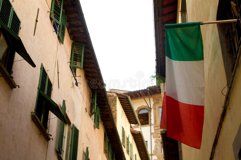 Constructions résidentielles de Florence images libres de droits