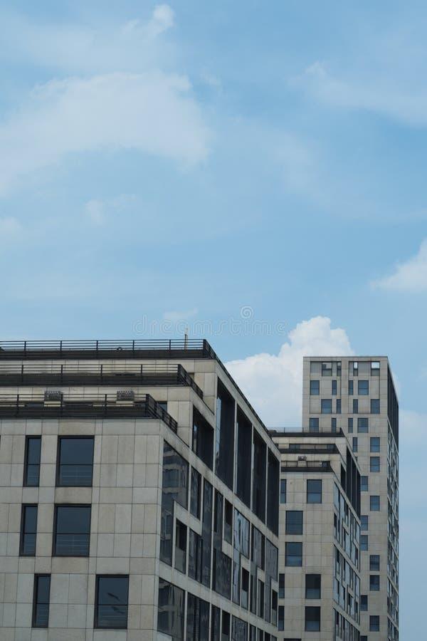 Constructions résidentielles de haute qualité image stock